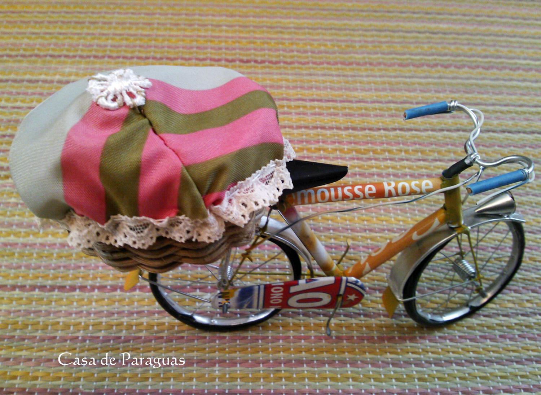 ミニチュア自転車かごカバー