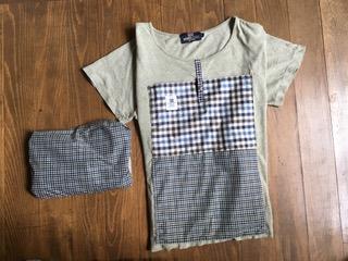 ポケッタブルTシャツ