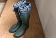 CASA布でお気に入り長靴
