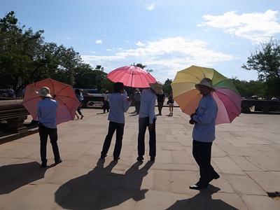 カンボジアの傘